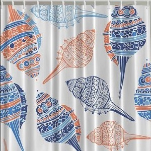 seashell shower curtains thumbnail